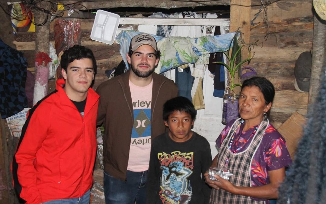 Visitas a familias en el Programa Uno con Uno