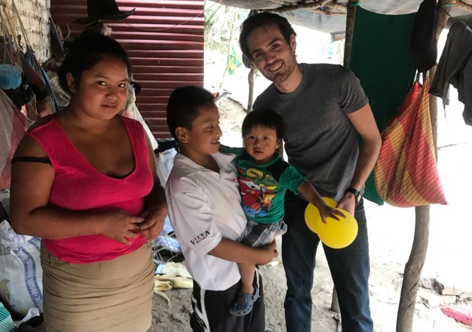 Visitas a familias de los tutorados del Uno con Uno